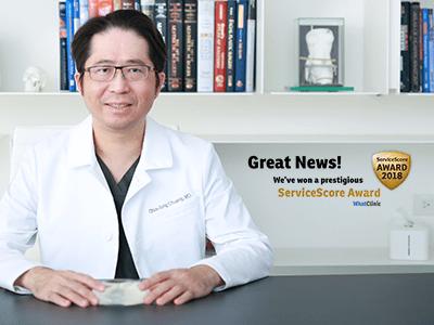 知美整形診所再度榮獲2018 whatclinic award的肯定