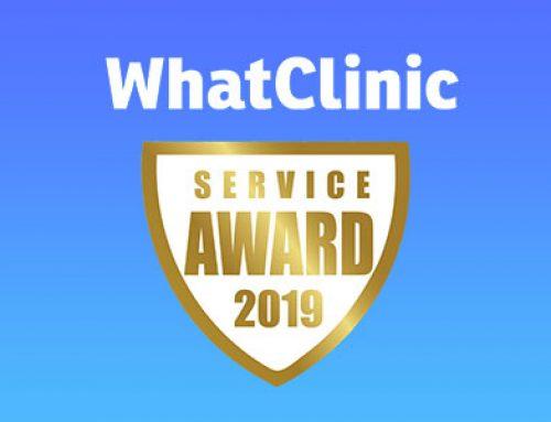 2019 WhatClinic Award