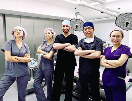 Dr. Wa iL順利結束在本院的短期美容手術見習課程